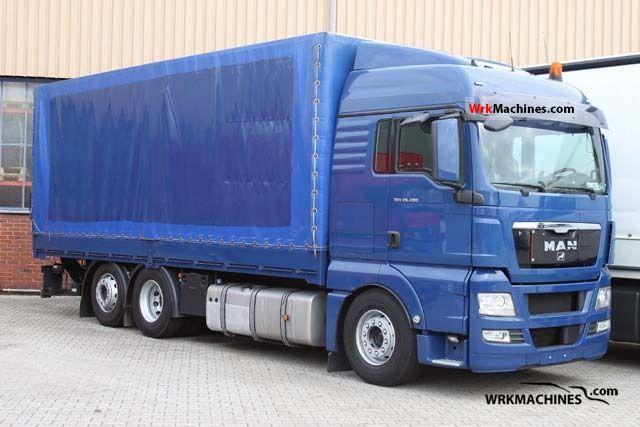 2008 MAN TGA 26.400 Truck over 7.5t Stake body photo