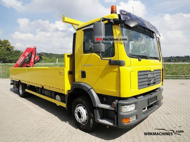 2008 MAN TGM 15.240 Truck over 7.5t Truck-mounted crane photo