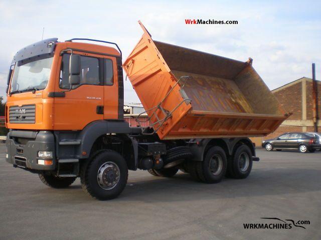 2006 MAN TGA 26.430 Truck over 7.5t Three-sided Tipper photo