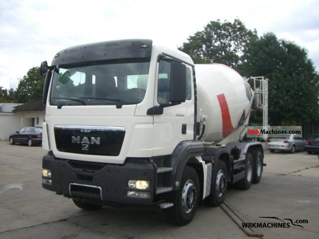 2009 MAN TGA 35.400 Truck over 7.5t Cement mixer photo