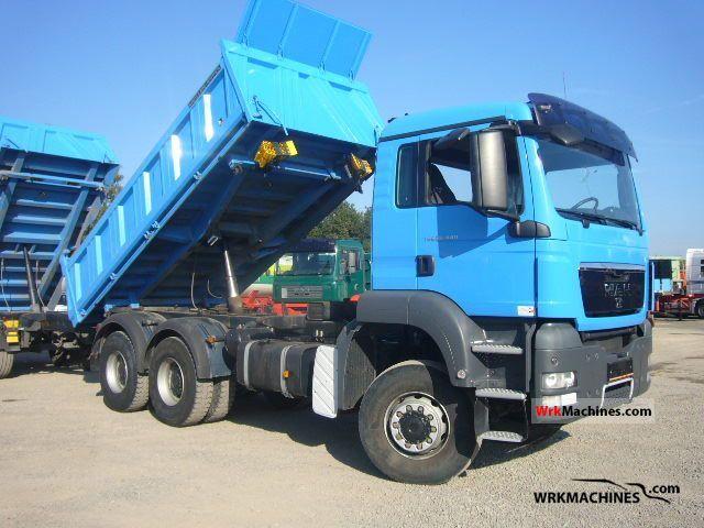 2008 MAN TGA 26.440 Truck over 7.5t Tipper photo