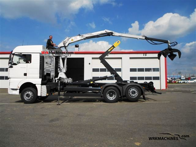 2007 MAN TGA 26.360 Truck over 7.5t Truck-mounted crane photo