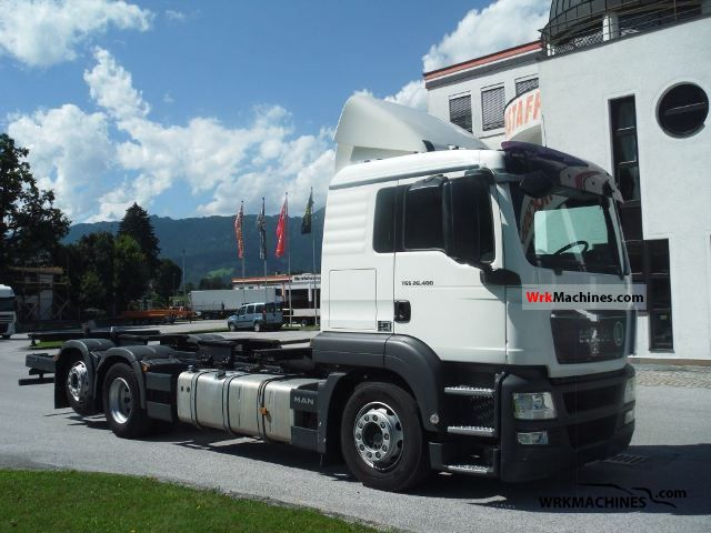 2010 MAN TGA 26.400 Truck over 7.5t Swap chassis photo