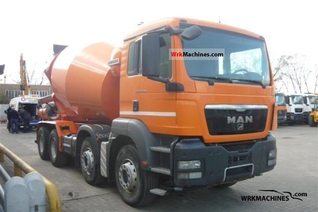 2008 MAN TGA 35.360 Truck over 7.5t Cement mixer photo