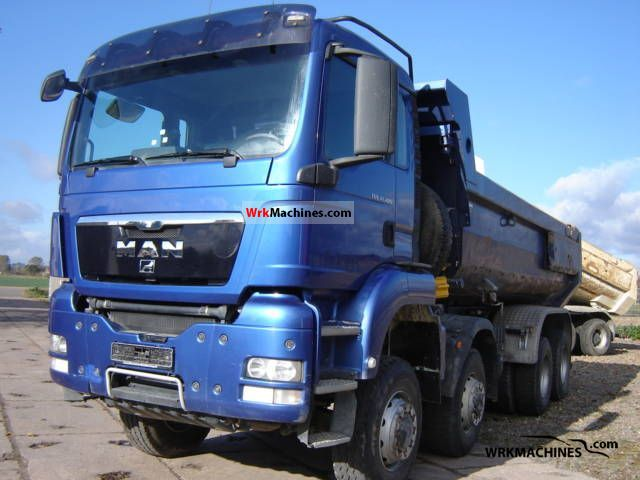 2007 MAN TGA 41.480 Truck over 7.5t Tipper photo
