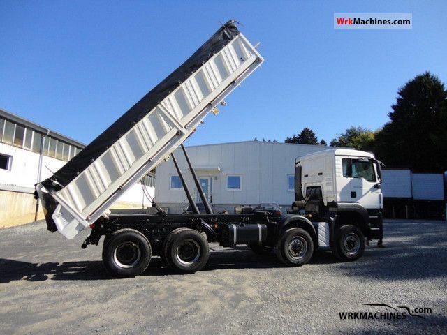2010 MAN TGA 35.440 Truck over 7.5t Three-sided Tipper photo