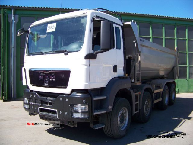2008 MAN TGA 41.480 Truck over 7.5t Tipper photo