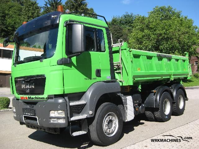 2008 MAN TGA 26.480 Truck over 7.5t Three-sided Tipper photo