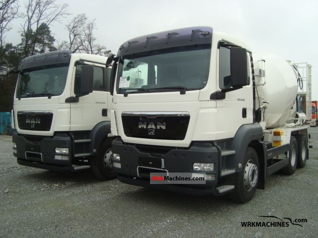2011 MAN TGA 26.360 Truck over 7.5t Cement mixer photo