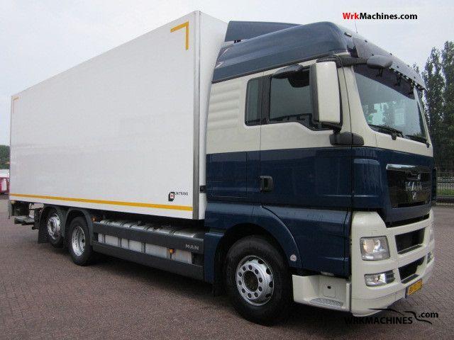 2009 MAN TGA 26.400 Truck over 7.5t Refrigerator body photo