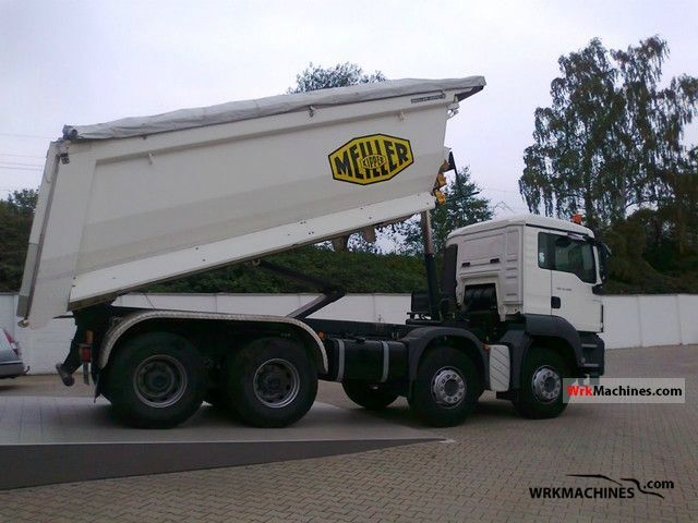 2009 MAN TGA 41.480 Truck over 7.5t Mining truck photo