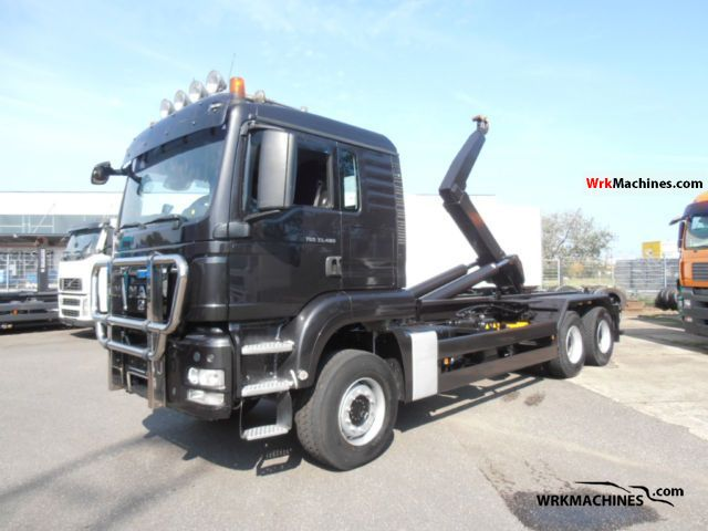2008 MAN TGA 33.480 Truck over 7.5t Roll-off tipper photo