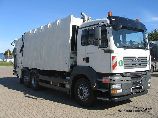 2007 MAN SÜ SÜ 263 Truck over 7.5t Refuse truck photo