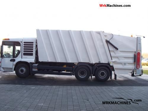 2008 MAN TGA 28.320 Truck over 7.5t Refuse truck photo