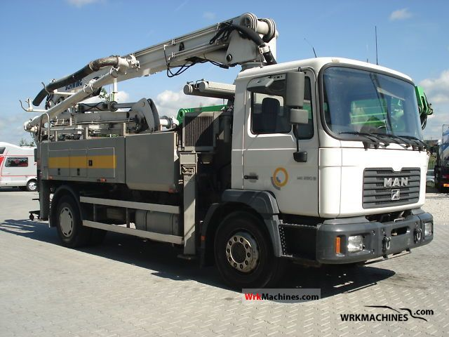 2001 MAN M 2000 L 280 Truck over 7.5t Concrete Pump photo