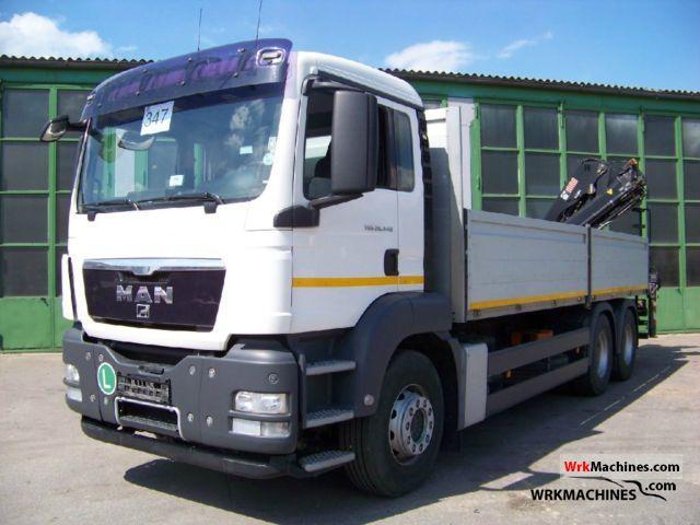 2008 MAN TGA 26.440 Truck over 7.5t Truck-mounted crane photo