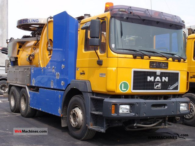 1999 MAN F 2000 26.463 Truck over 7.5t Vacuum and pressure vehicle photo