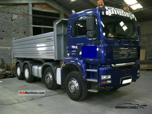 2004 MAN TGA 35.480 Truck over 7.5t Cement mixer photo