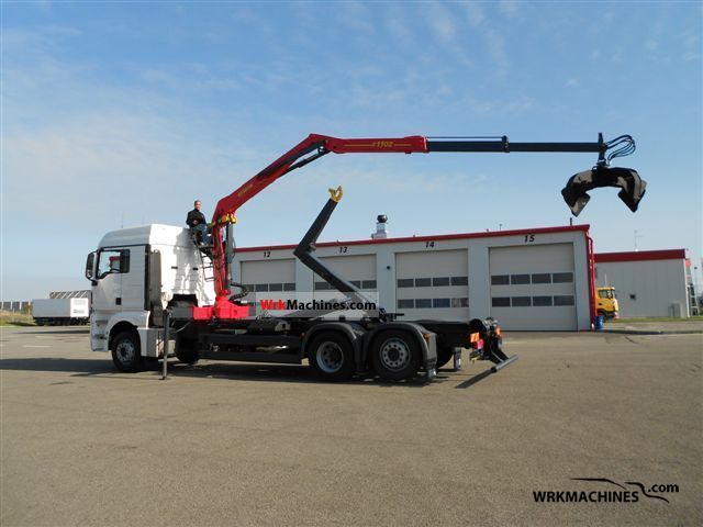2008 MAN TGA 26.400 Truck over 7.5t Truck-mounted crane photo