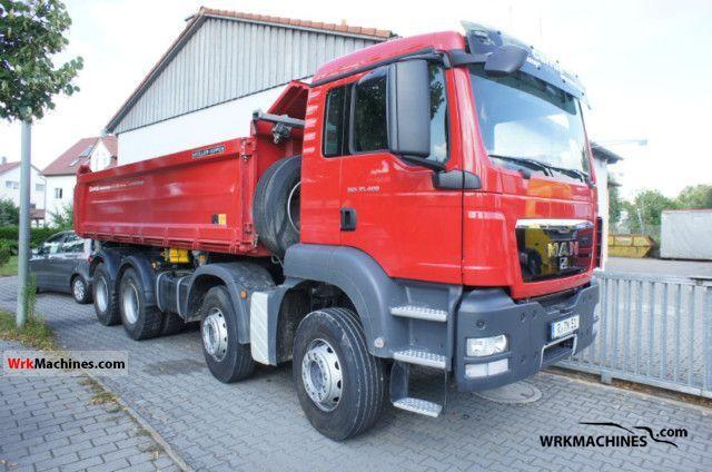 2011 MAN TGA 35.400 Truck over 7.5t Three-sided Tipper photo