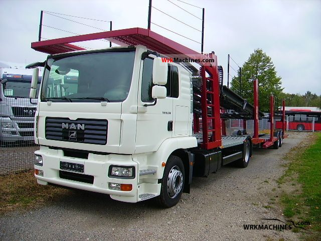 2010 MAN TGM 18.330 Truck over 7.5t Car carrier photo