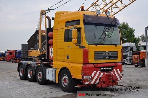 2003 MAN TGA 41.660 Semi-trailer truck Heavy load photo