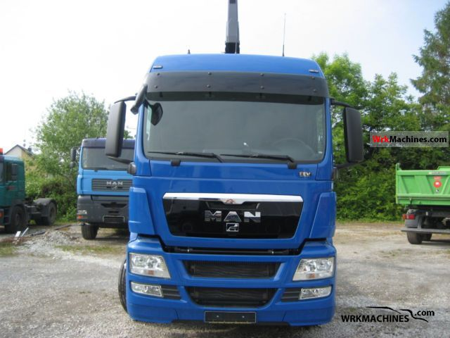 2011 MAN TGA 26.440 Truck over 7.5t Roll-off tipper photo