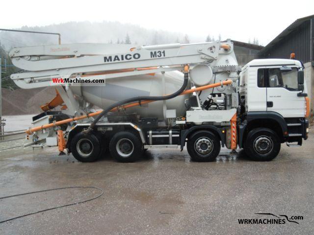 2004 MAN TGA 41.460 Truck over 7.5t Concrete Pump photo