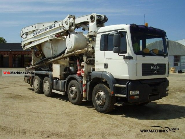2004 MAN TGA 35.360 Truck over 7.5t Concrete Pump photo