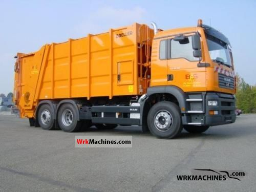 2009 MAN TGA 26.320 Truck over 7.5t Refuse truck photo