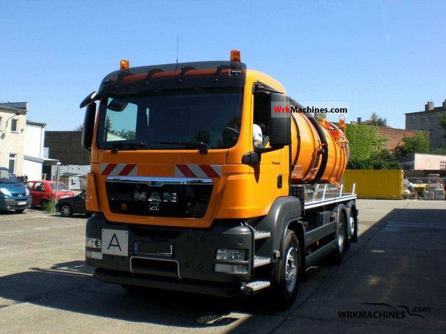 2008 MAN SÜ SÜ 263 Truck over 7.5t Vacuum and pressure vehicle photo