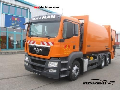 2009 MAN SÜ SÜ 263 Truck over 7.5t Refuse truck photo