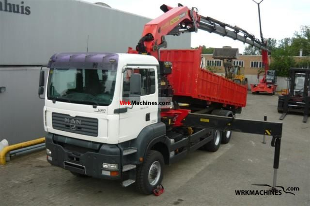2006 MAN TGA 33.350 Truck over 7.5t Truck-mounted crane photo