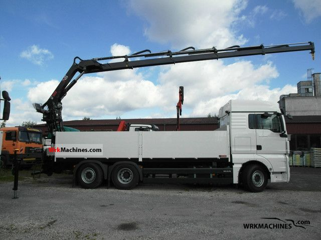 2011 MAN TGA 26.440 Truck over 7.5t Truck-mounted crane photo