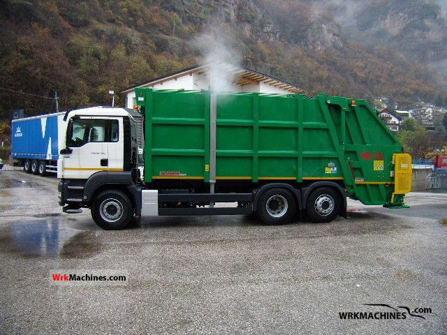 2011 MAN TGA 26.480 Truck over 7.5t Refuse truck photo