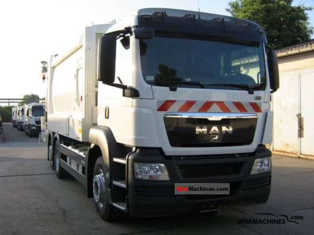 2011 MAN SÜ SÜ 263 Truck over 7.5t Refuse truck photo