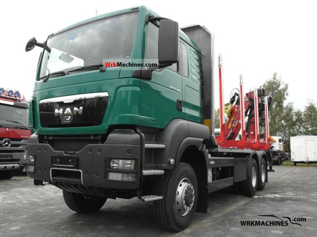 2011 MAN TGA 33.440 Truck over 7.5t Timber carrier photo