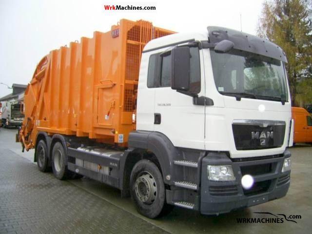 2010 MAN SÜ SÜ 283 Truck over 7.5t Refuse truck photo