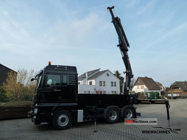 2009 MAN TGA 26.480 Truck over 7.5t Truck-mounted crane photo