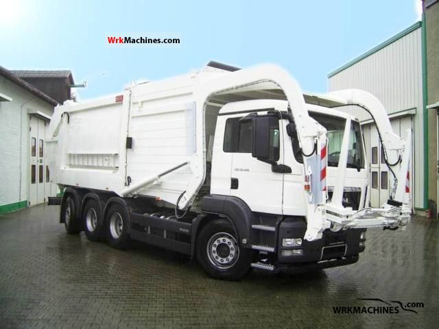 2009 MAN TGA 35.400 Truck over 7.5t Refuse truck photo