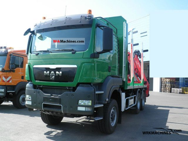 2011 MAN TGX 33.540 Truck over 7.5t Timber carrier photo