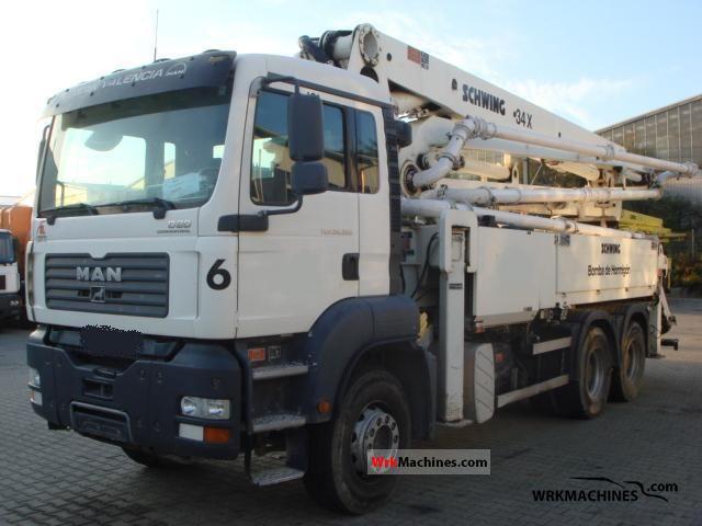 2006 MAN TGA 26.350 Truck over 7.5t Concrete Pump photo