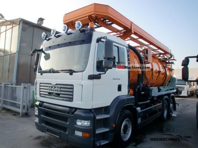2007 MAN TGA 26.440 Truck over 7.5t Vacuum and pressure vehicle photo