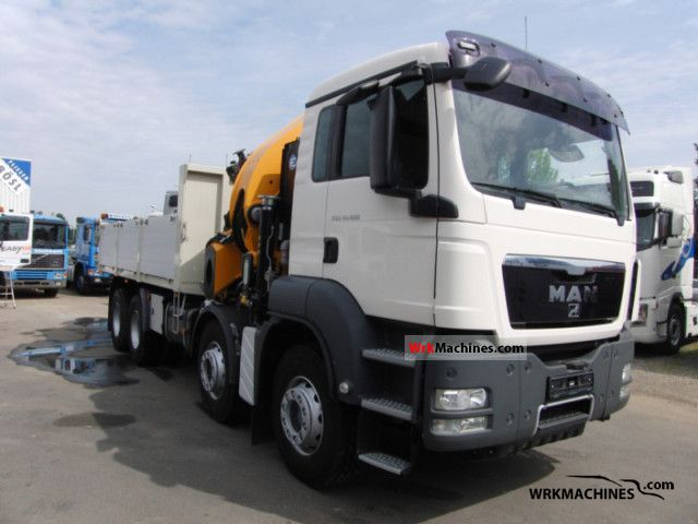2008 MAN TGA 41.480 Truck over 7.5t Truck-mounted crane photo