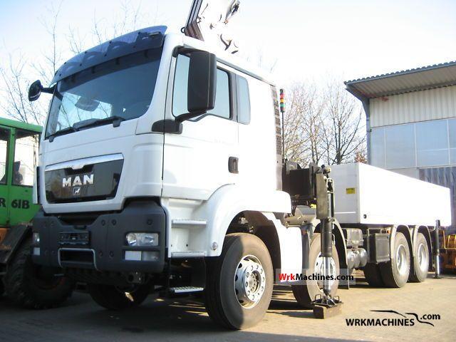 2010 MAN TGA 41.440 Truck over 7.5t Stake body photo