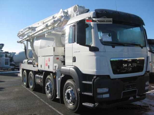 2010 MAN TGA 35.400 Truck over 7.5t Cement mixer photo