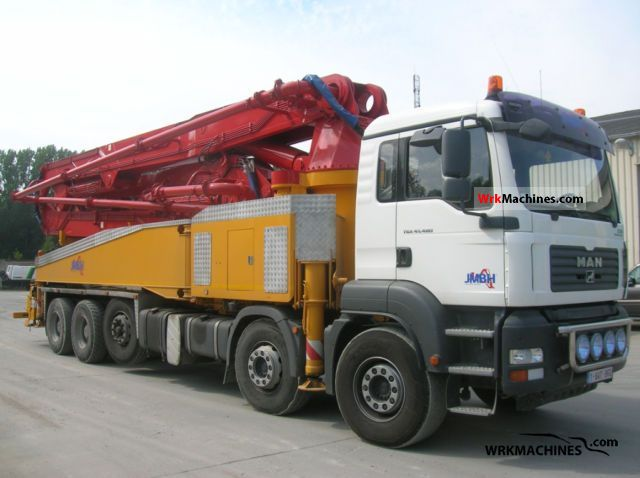 2008 MAN TGA 41.480 Truck over 7.5t Concrete Pump photo