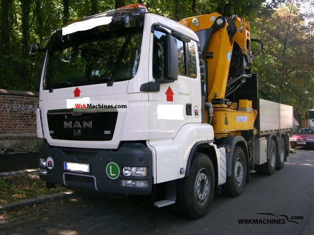 2010 MAN TGA 41.440 Truck over 7.5t Truck-mounted crane photo