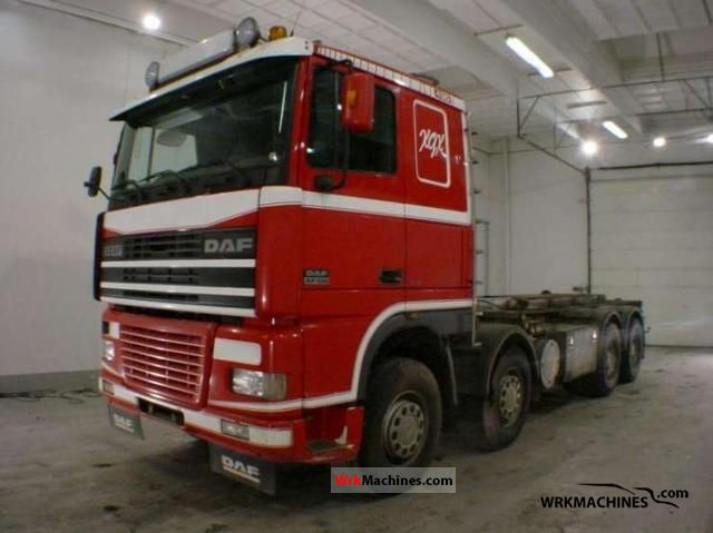 2002 DAF XF 95 95.430 Truck over 7.5t Roll-off tipper photo