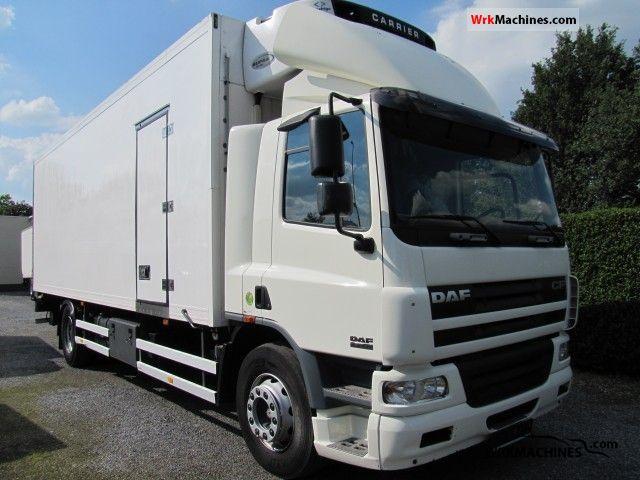 2006 DAF CF 75 75.250 Truck over 7.5t Refrigerator body photo